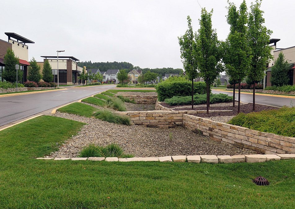 Green infrastructure to reduce pollution