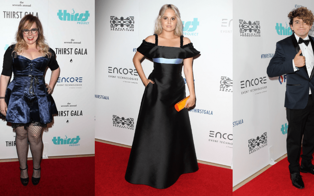 Celebrities attended the annual Thirst Gala