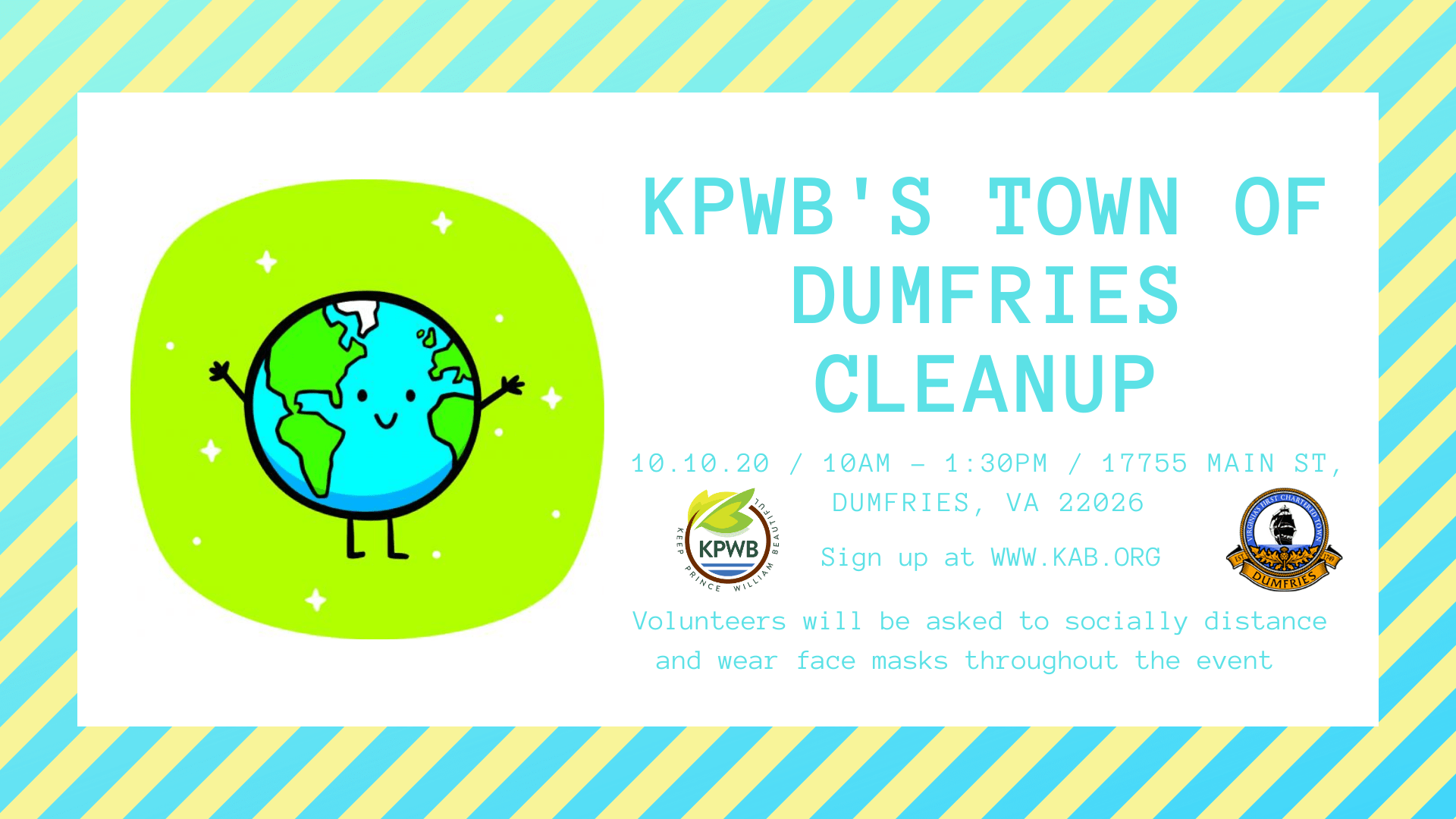 Dumfries Cleanup - Events