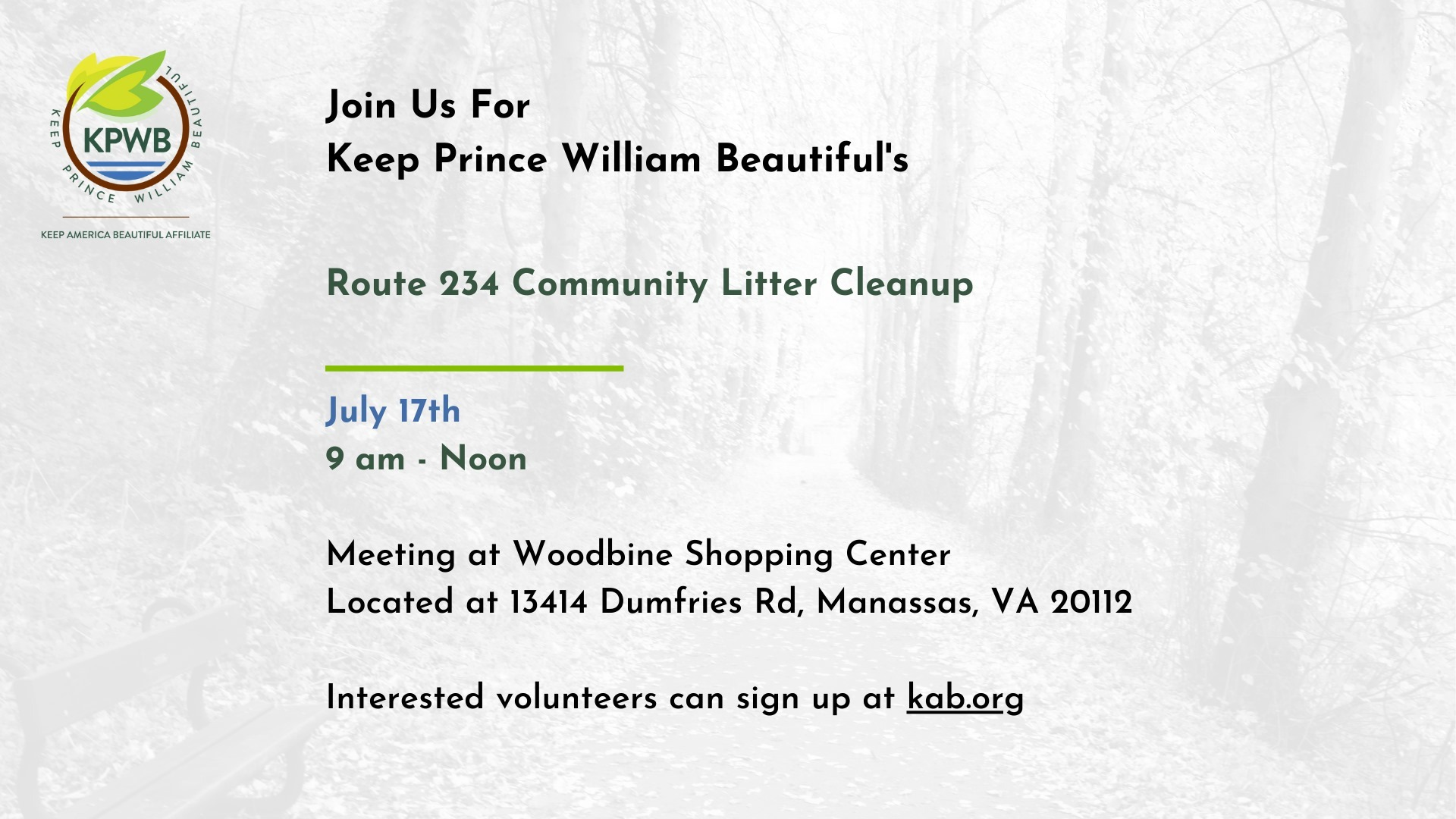 July 234 cleanup - Events