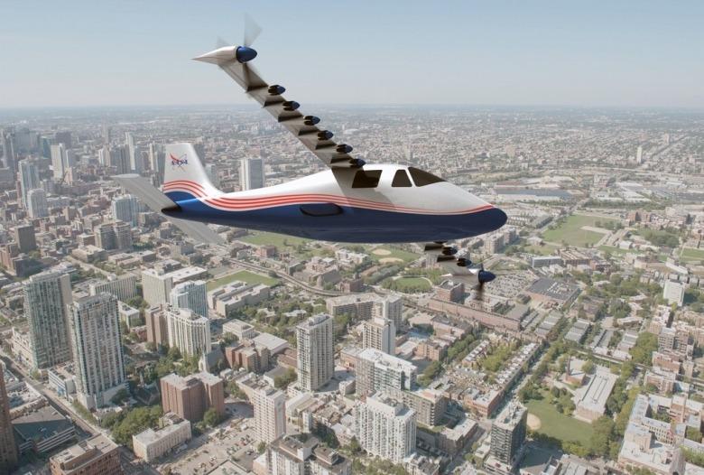 NASA's Energy Efficient Airplane